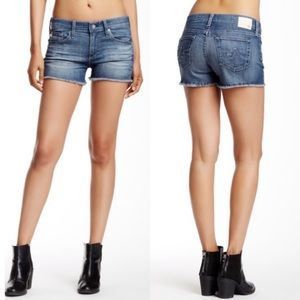 AG Adriano Goldschmied Pixie Cut-Off Shorts